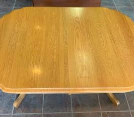 TALLIS Oak Trestle Dining Table