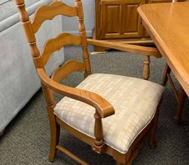 Wabash Oak Dining Chairs