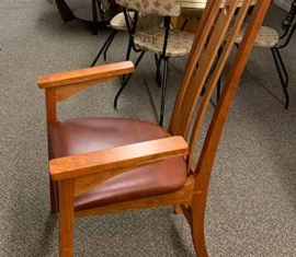 Amish-built Cherry Dining Chairs