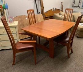 Amish-built Cherry Dining Set