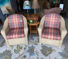Lloyd Loom Wicker Chairs