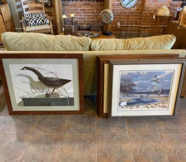Owen Gromme Signed Duck Prints