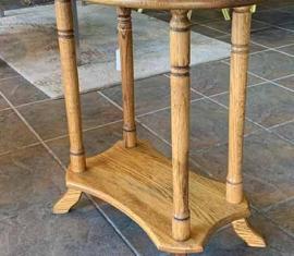 Amish-built Oak End Tables