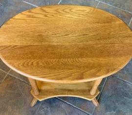 Amish-built Oak End Table
