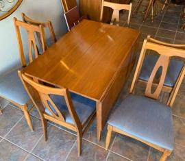 Garrison Mid-century Dining Set