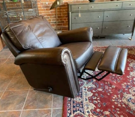 Bonded Leather Rocker-Recliner