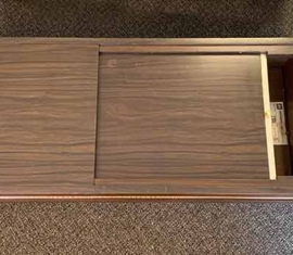 Mid-Century Stereo Coffee Table