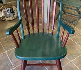 4 Two-tone Dining Chairs