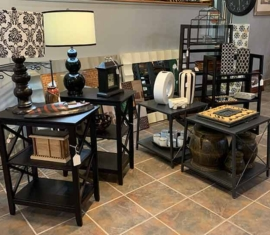 Assorted Pier-One Tables
