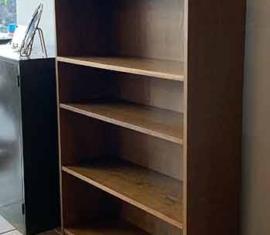 Walnut Bookshelf